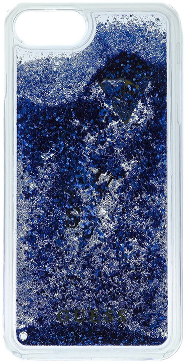 Guess Liquid Glitter Hard Purple pouzdro pro iPhone 7