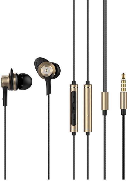BUXTON BHP 5050 sluchátka, zlatá