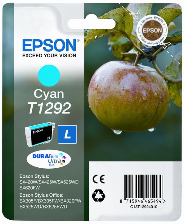 Epson C13T12924010, azurová