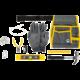 Dílna Small Foot - Profesionální brašna na nářadí s nástroji, černá/žlutá