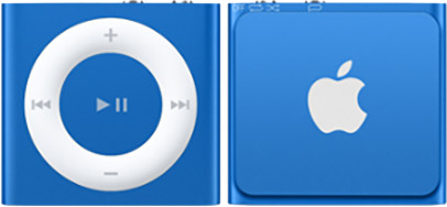 Apple iPod shuffle - 2GB, modrá, 4th gen.