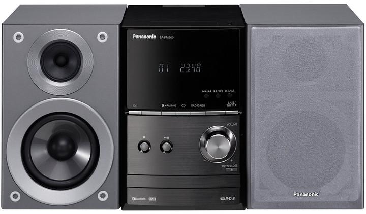 Panasonic SC-PM600EG, stříbrná