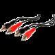 PremiumCord Kabel 2x CINCH-2x CINCH M/M 3m