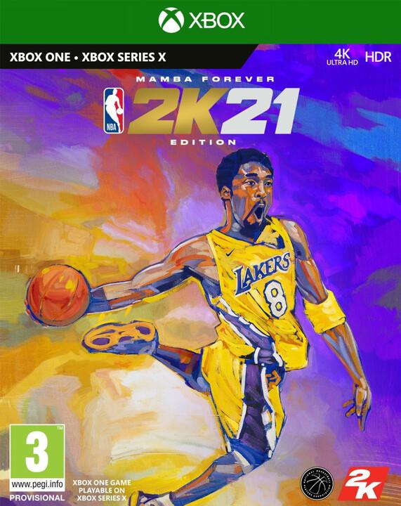 NBA 2K21 - Mamba Forever Edition (Xbox ONE)