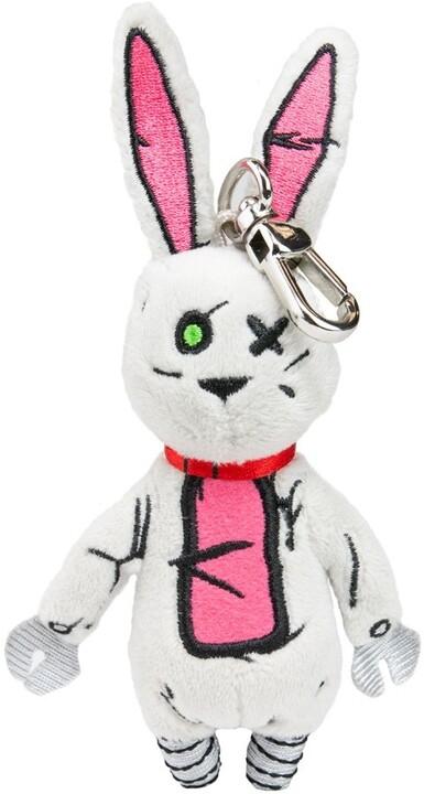 Klíčenka Borderlands 3 - Tiny Tina Rabbit (plyšový)