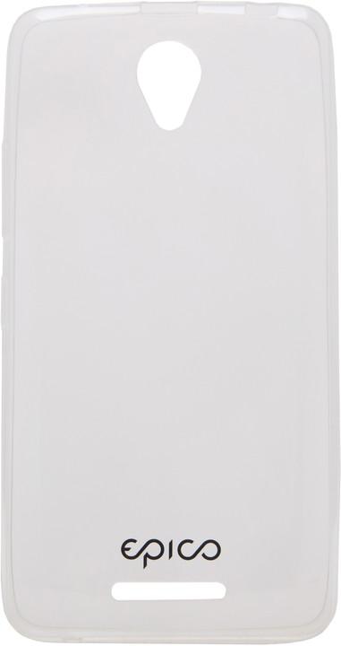 EPICO pružný plastový kryt pro Lenovo A5000 RONNY GLOSS - čirá bílá