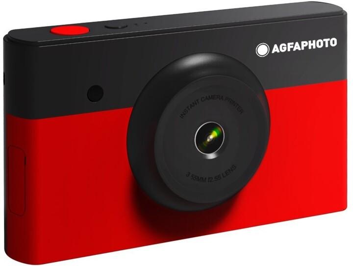 AGFA Photo Realipix Mini S, červená