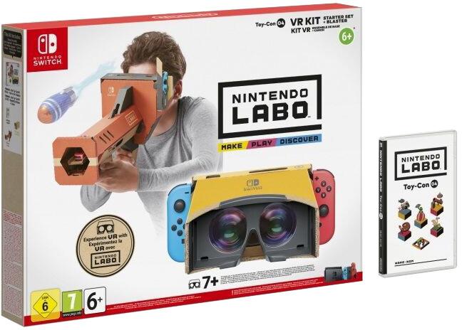 Nintendo Labo VR Kit - Starter Set + Blaster (SWITCH)