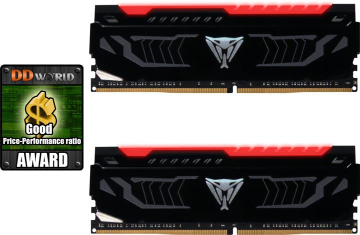 Patriot VIPER LED 16GB (2x8GB) DDR4 3000, red