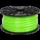 Plasty Mladeč tisková struna (filament), ABS-T, 1,75mm, 1kg, zelenožlutá