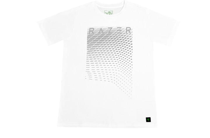 Tričko Razer Lifestyle Lance Power, bílé (XL)