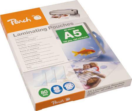 Peach laminovací fólie A5, 80mic, 100ks