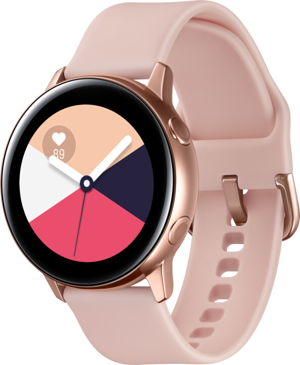 Samsung Galaxy Watch Active, růžovo-zlatá