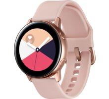 Samsung Galaxy Watch Active, růžovo-zlatá - SM-R500NZDAXEZ