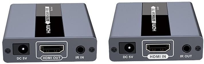 PremiumCord HDMI extender na 120m přes jeden kabel Cat5/6, bez zpoždění