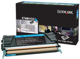 Lexmark X748H1CG, cyan