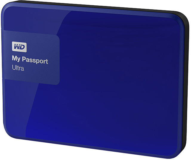 WD My Passport ULTRA - 500GB, modrá