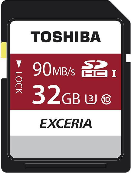 Toshiba SDHC Exceria 32GB 90MB/s UHS-I