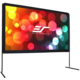 "Elite Screens plátno mobilní outdoor stativ 180"" (457,2 cm)/ 16:9/ 224 x 398,5 cm/ DynaBrite"