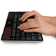 Logitech Wireless Solar Keyboard, CZ