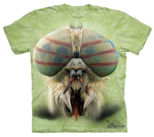 Tričko The Mountain Horse Fly, zelená (US L / EU XL)