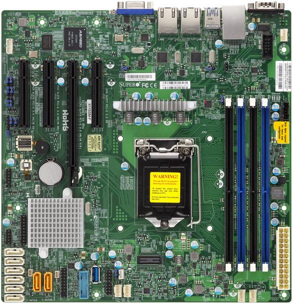 SuperMicro X11SSM-F - Intel C236