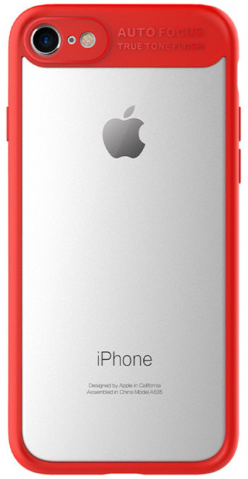 Mcdodo iPhone 7 Plus/8 Plus PC+ TPU Case, Red