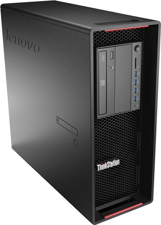 Lenovo ThinkStation P500 TWR, černá