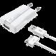CellularLine nabíječka a datový kabel s konektorem Apple iPhone 4/4S