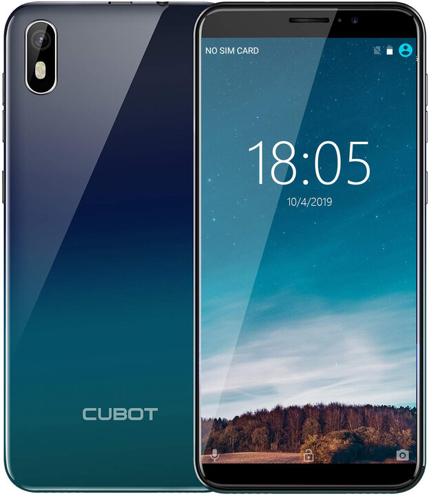 Cubot J5, 2GB/16GB, Gradient