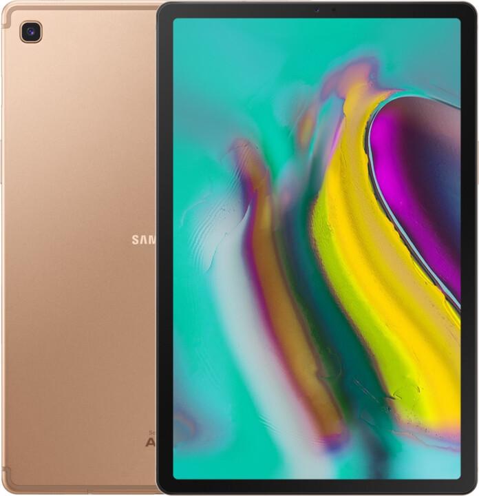 Samsung Galaxy Tab S5e, 4GB/64GB, zlatá