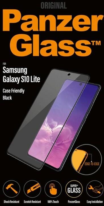 PanzerGlass ochranné sklo Edge-to-Edge pro Samsung Galaxy S10 Lite/Galaxy M51, černá