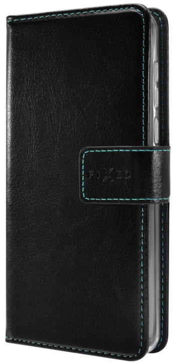 FIXED Opus pouzdro typu kniha pro Asus Zenfone 3 Go (ZB501KL), černé