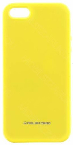 Molan Cano Jelly TPU Pouzdro pro Xiaomi Redmi Note 5A, žlutá