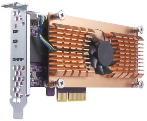QNAP QM2-2S - Duální rozšiřující karta pro disky SSD M.2 22110/2280 SATA