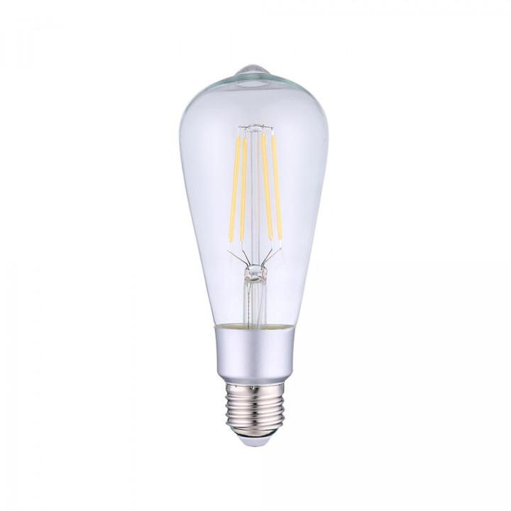 Shelly stmívatelná žárovka Vintage ST64, 7 W/750 lm, závit E27, WiFi