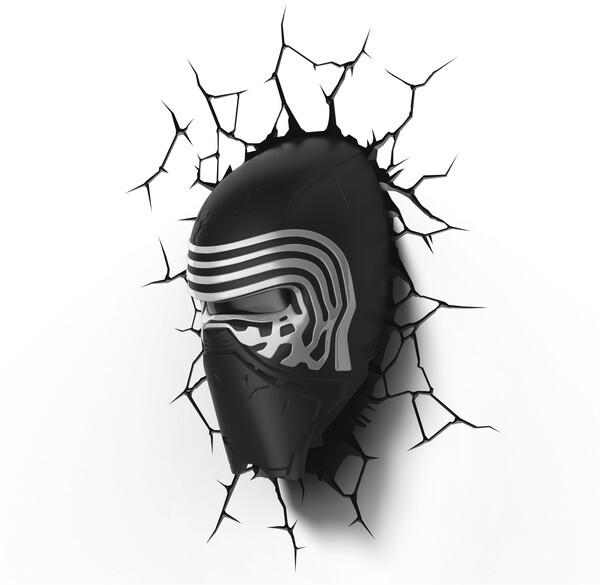3D světlo Star Wars - Kylo Renova helma