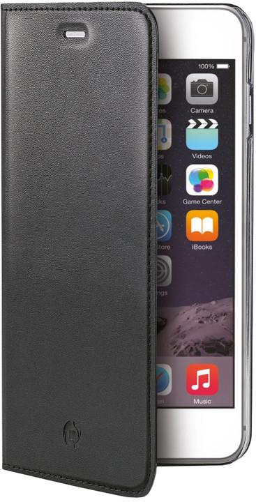 CELLY Air pouzdro pro Apple iPhone 6S Plus, PU kůže, černá