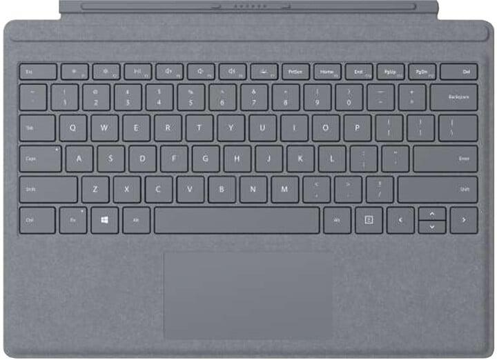 Microsoft Surface Pro 4 Type Cover, platinum, CZ&SK