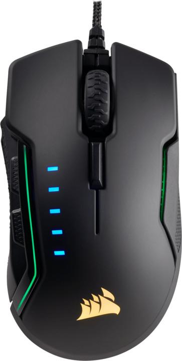 Corsair Gaming Glaive RGB, černošedá