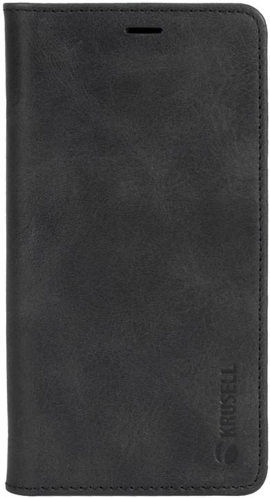 Krusell flipové pouzdro SUNNE 4 CARD Foliocase pro Apple iPhone X, černá