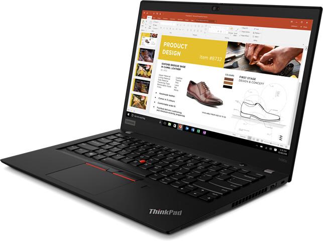 Lenovo ThinkPad T490s, černá
