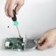RF elements StationBox S - venkovní hliníkový box pro RouterBoardy, výstup pro RSMA