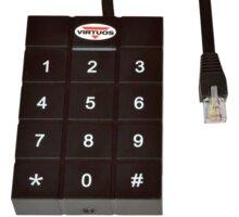 Virtuos RFID - 125 kHz adaptér s klávesnicí pro pokladní zásuvky Virtuos 24V - EVA0010