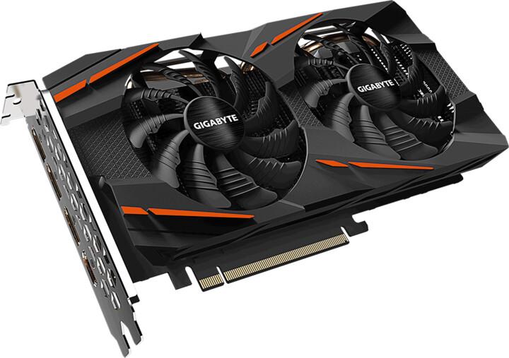 GIGABYTE Radeon RX580 GAMING 8G rev 2.0, 8GB GDDR5