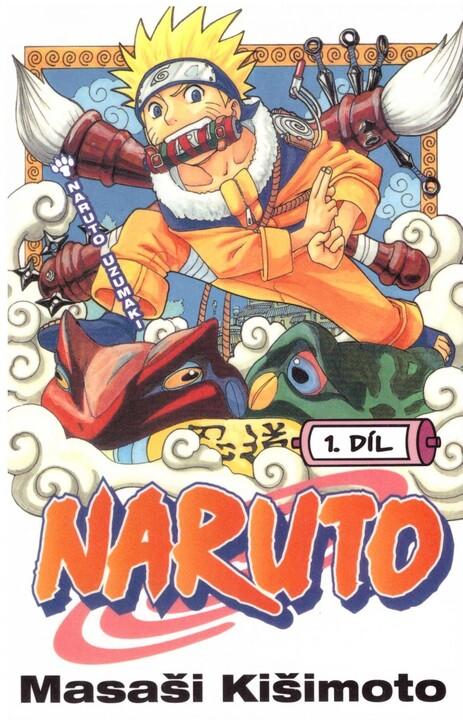 Komiks Naruto: Naruto Uzumaki, 1.díl, manga