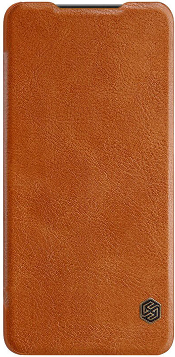 Nillkin Qin Book pouzdro pro Samsung Galaxy A20e, hnědá