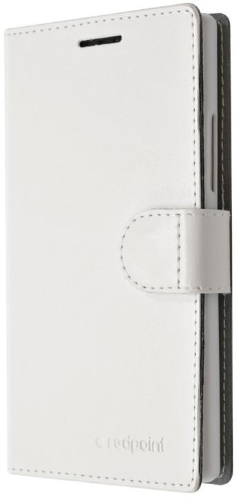 FIXED FIT pouzdro pro Lenovo A6010, kolekce RedPoint, bílá