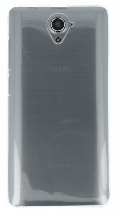 myPhone silikonové pouzdro pro Venum, transparentní bílá