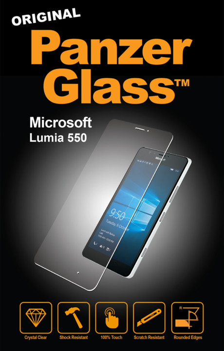 PanzerGlass Standard pro Microsoft Lumia 550, čiré